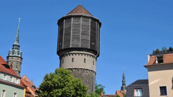 Alter Wasserturm in der Mönchsgasse