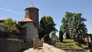 Nicolaiturm und Nicaolaipforte von der Gerberbastei