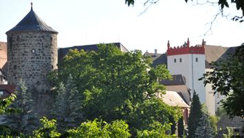 Nicolaiturm und Matthiasturm vom Schützenplatz