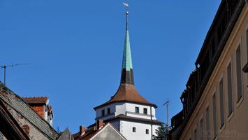 Schülerturm vin der Via regia an der Gerberstraße