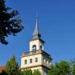 Turmspitze des Turmes an der Berufakademie