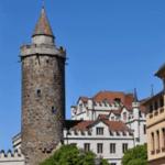 Wendischer Turm mit Finanzamt am Buttermarkt
