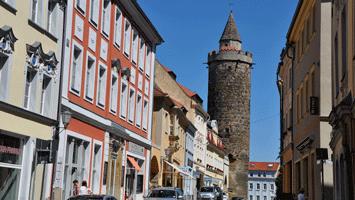 Wendischer Turm auf der Wendischen Straße