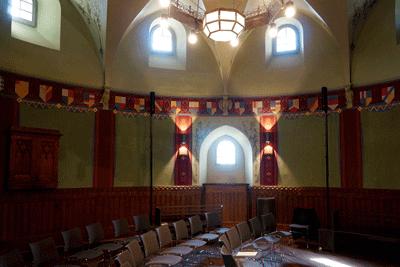 Turmsaal der Röhrscheidtbastei für Tagung