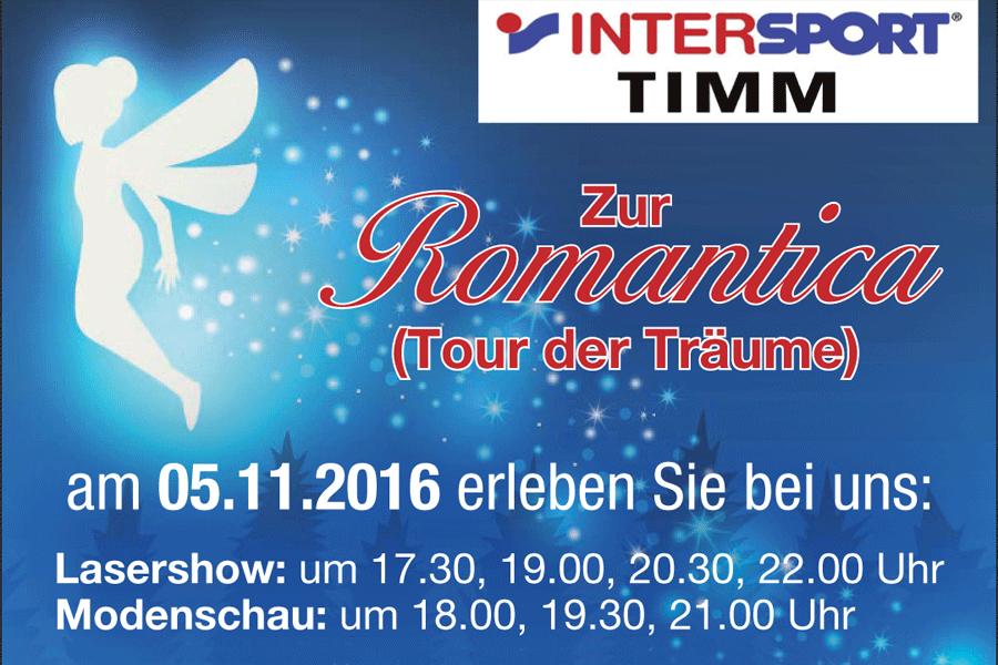 Romantica 2016 Tour der Träume
