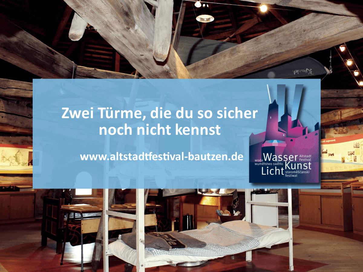 Türme-Stadt zum Alstadtfestival 2018