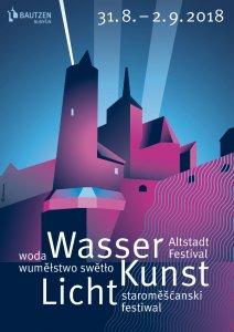 Plakat für das Altstadtfestival 2018 in Bautzen