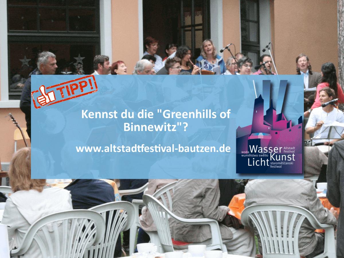 Akteuere zum Altstadtfestival 2018 - Greenhills of Binnewitz