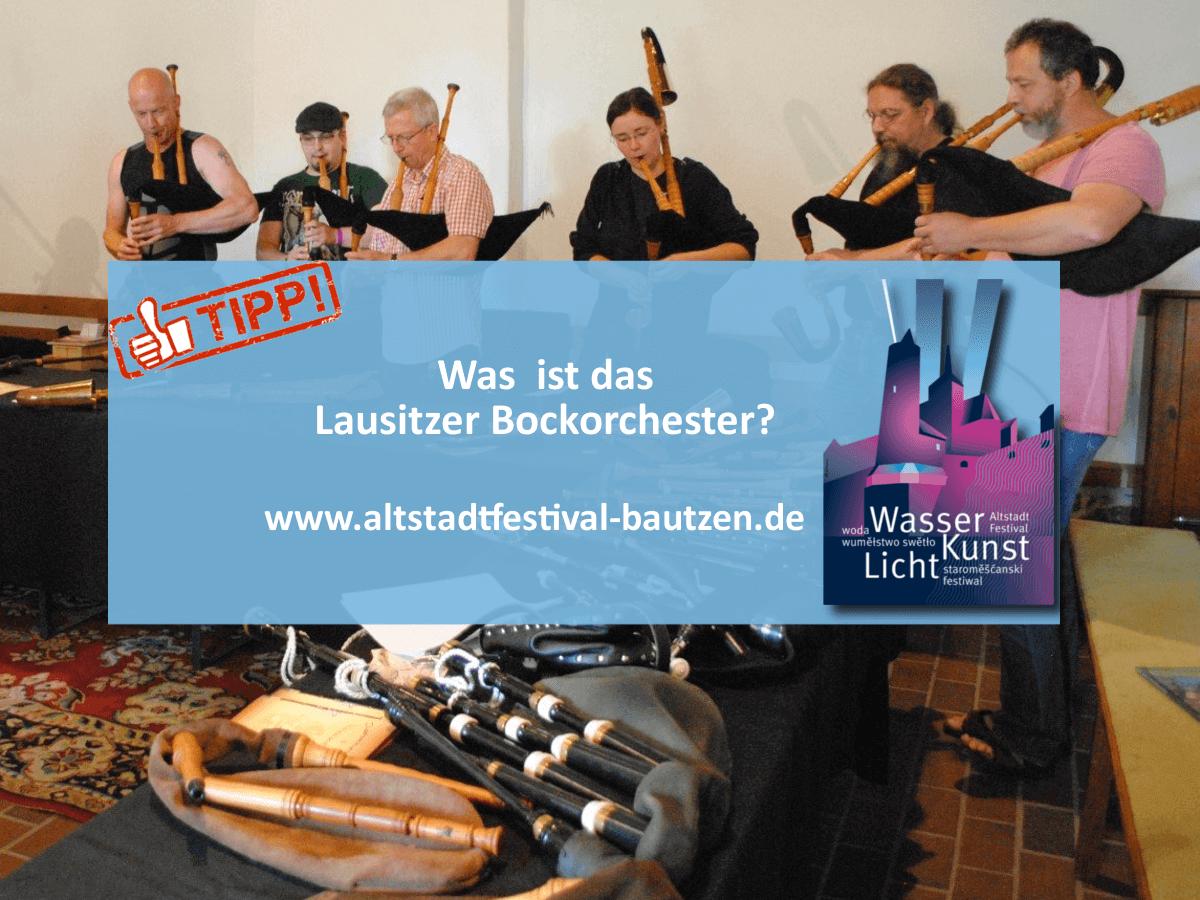 Akteuere zum Altstadtfestival 2018 - Lausitzer Bockorchester