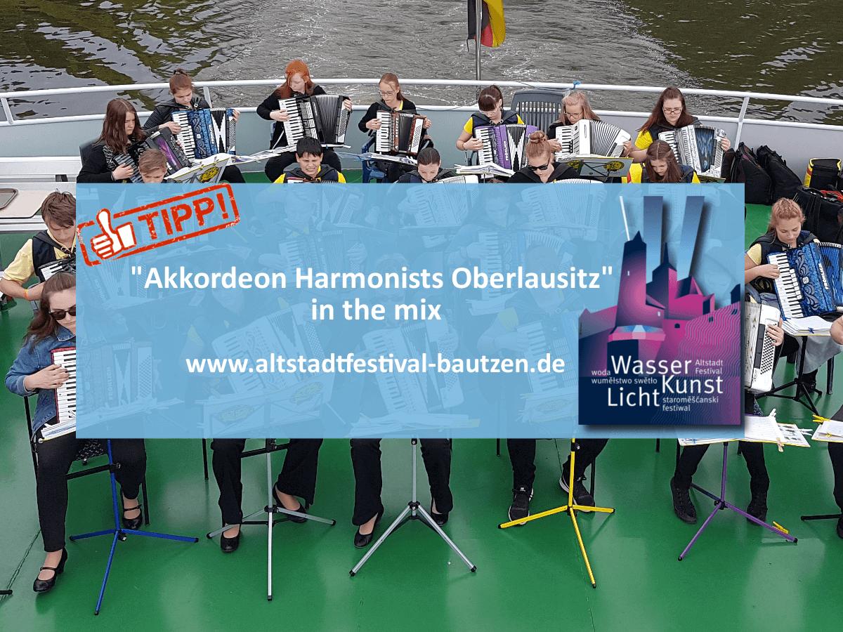 Akkordeon Harmonists Oberlausitz zum altstadtfestival 2018 1