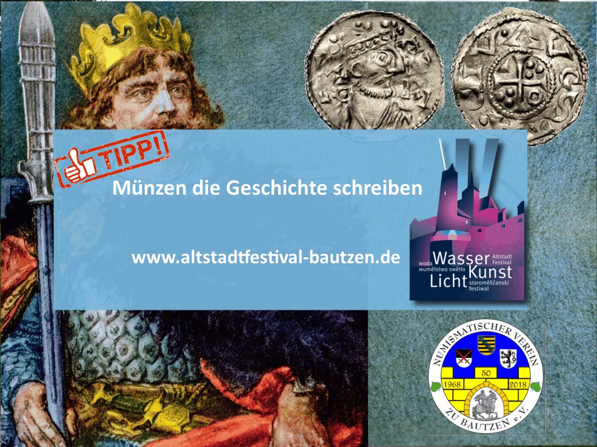 Numismatischer Verein Bautzen zum Altstadtfestival 2018