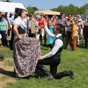 Folkloreensemble hoeflein Altstadtfestival 2018
