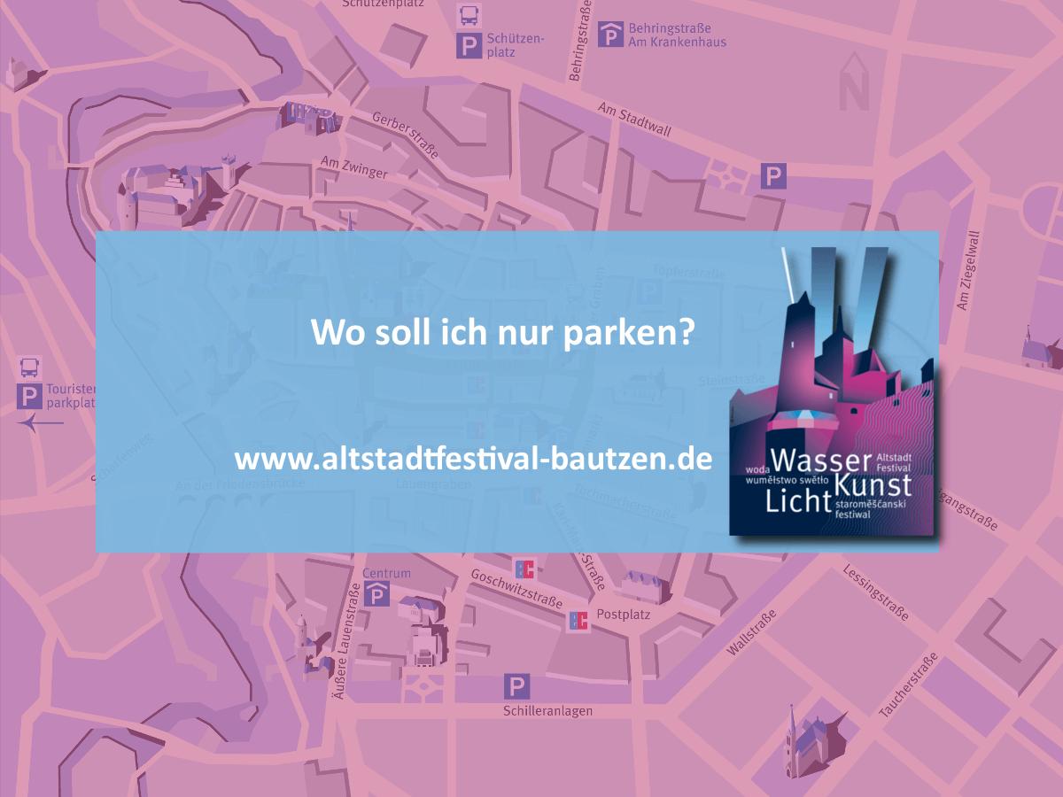 Locations zum Altstadtfestival 2018 - Parkplätze zum Altstadtfestival