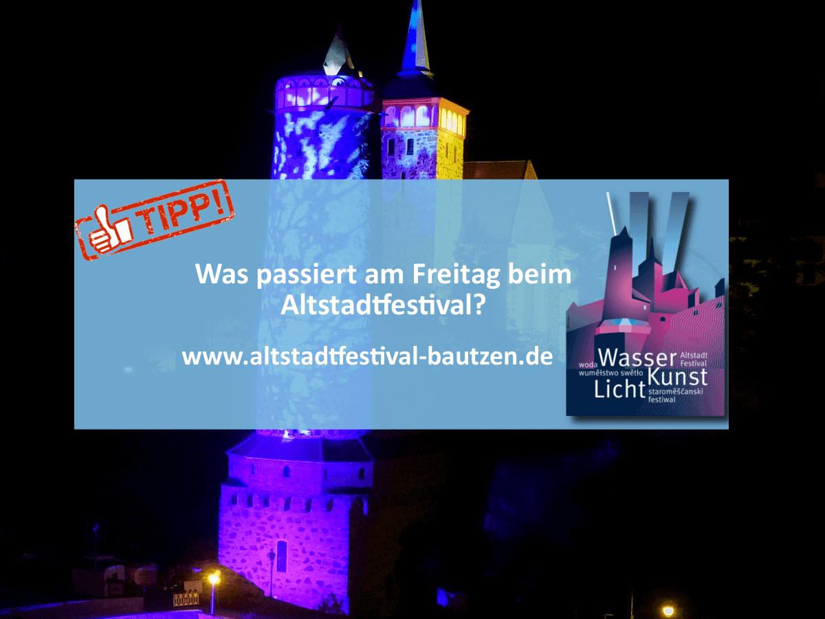 Locations zum Altstadtfestival 2018 - Programm fuer Freitag