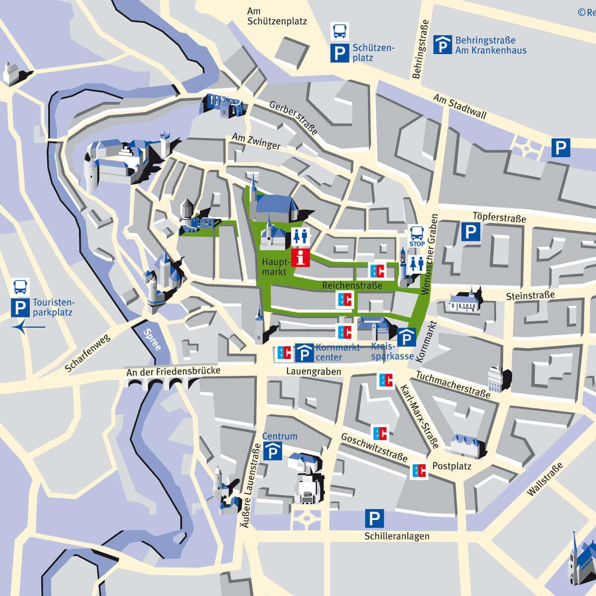 Parkplätze zum Altstadtfestival