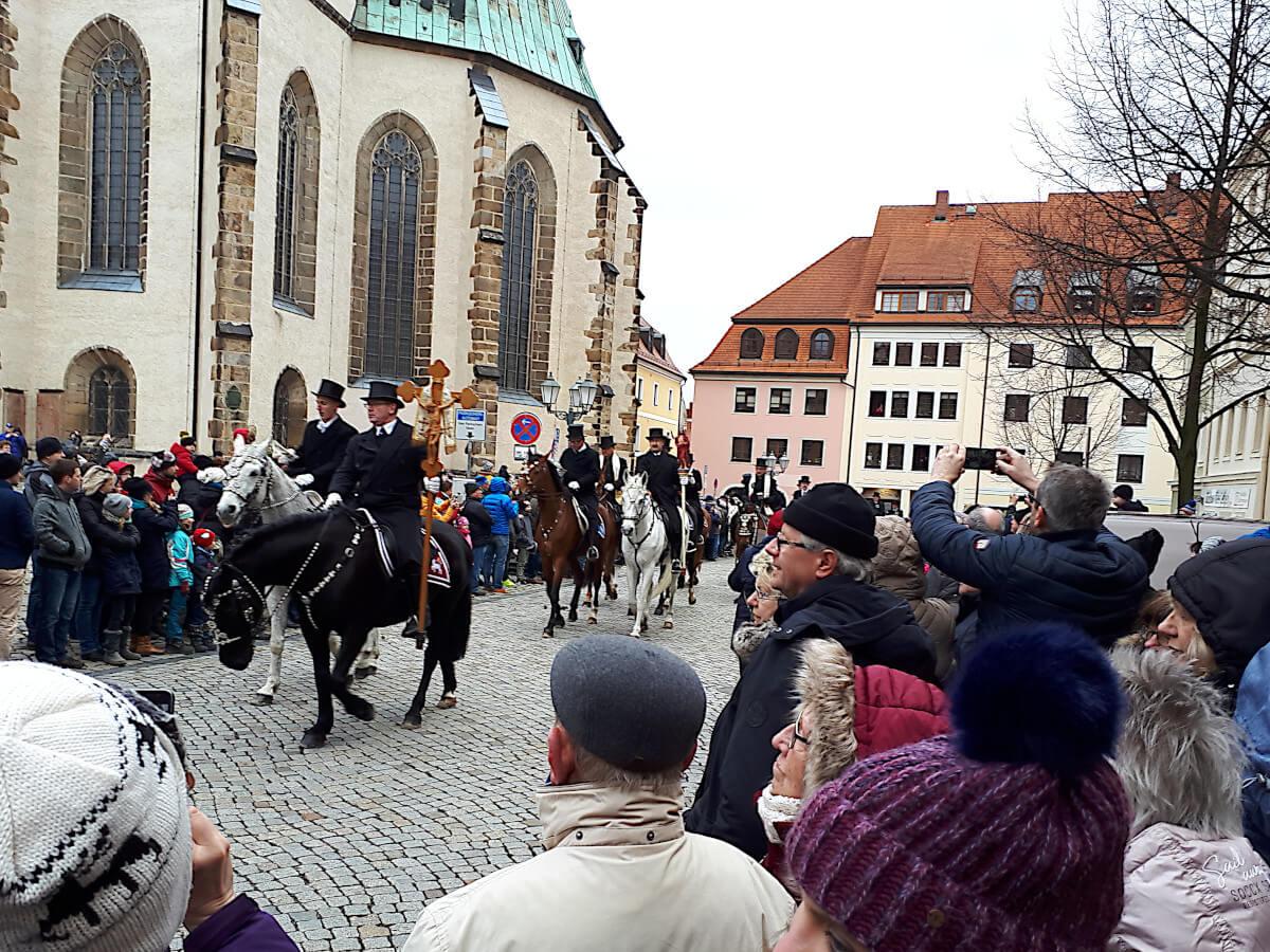 Osterreiten in Bautzen 2019