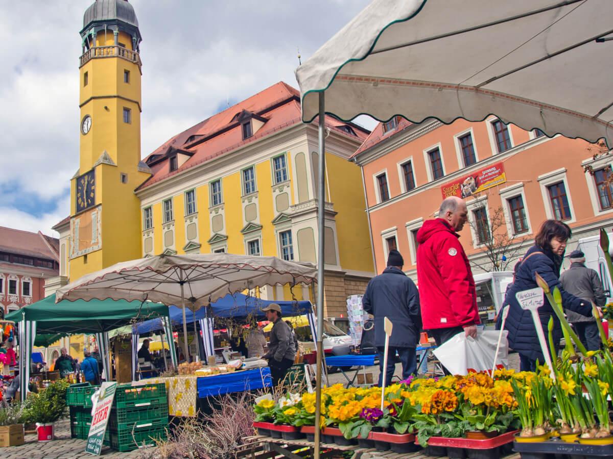 Ostermarkt in Bautzen