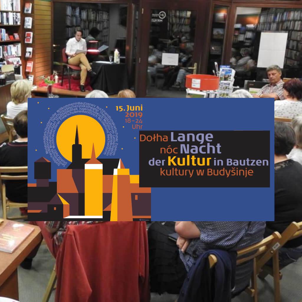 Beitrag Lange Nacht der Kultur 2019 - Buchhandlung Kretschmar- Foto von Buchhandlung Kretschmar