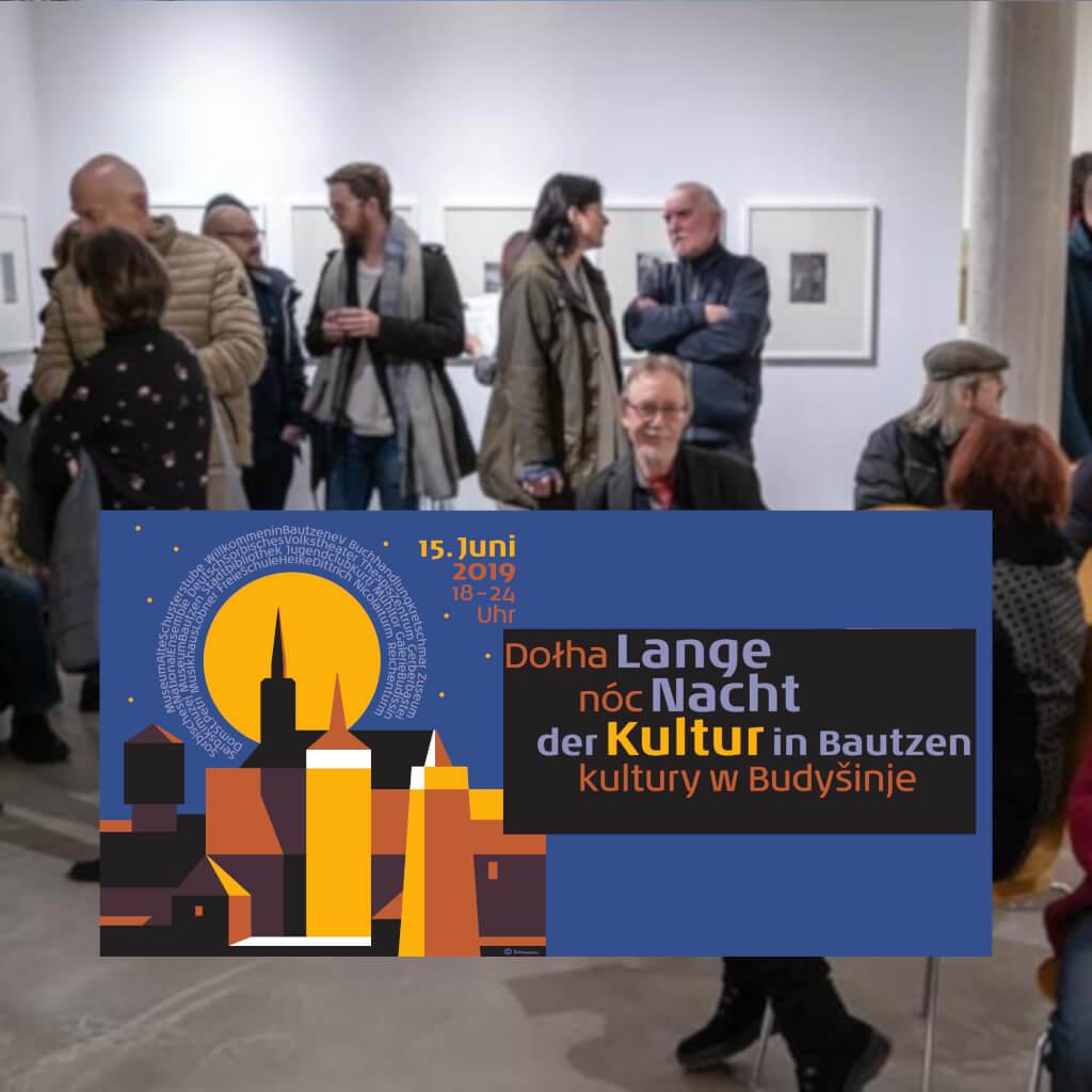 Beitrag Lange Nacht der Kultur 2019 - galerie budissin - Foto von Kunstverein Bautzen