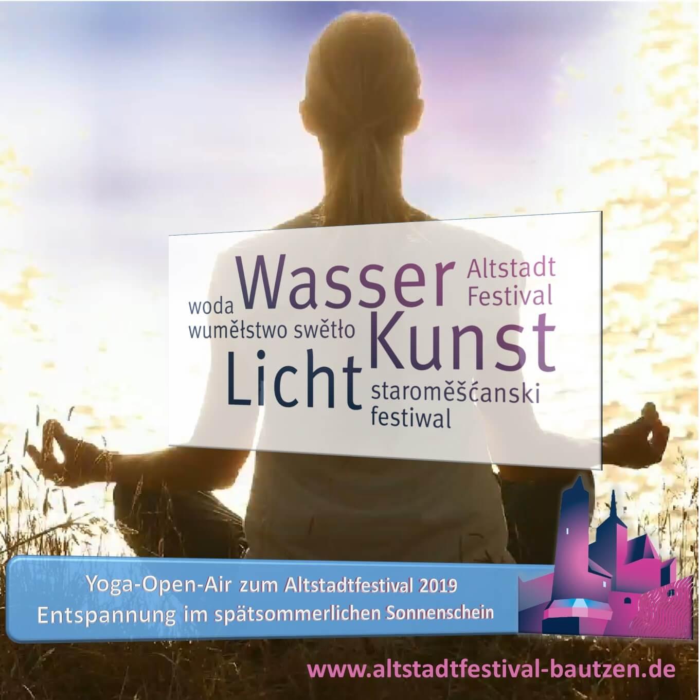 Beitrag Yoga Open Air zum Altstadtfestival 2019