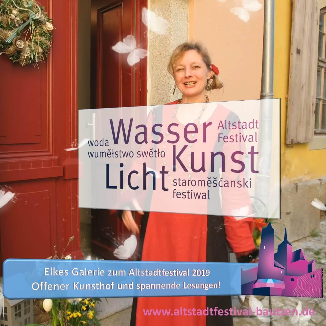 Beitragsbild Elkes Galerie zum Altstadtfestival 2019