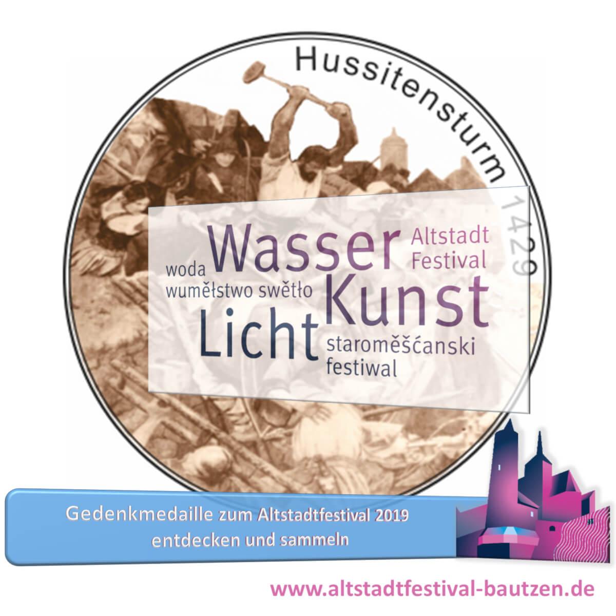 Beitragsbild Gedenkmedaille zum Altstadtfestival 2019