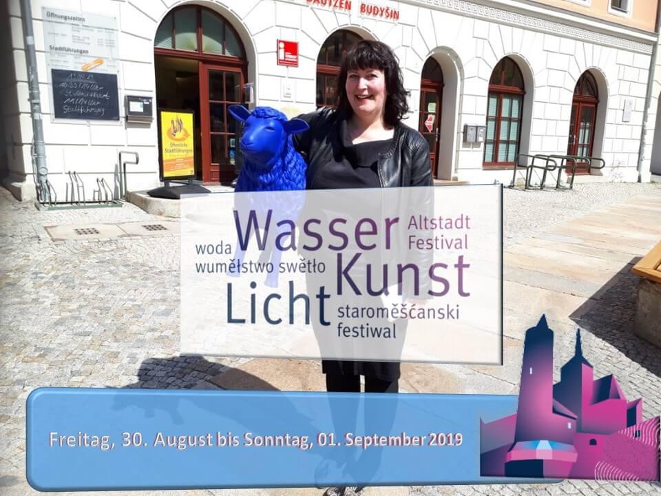 Blaue Schafe zum Altstadtfestival 2019