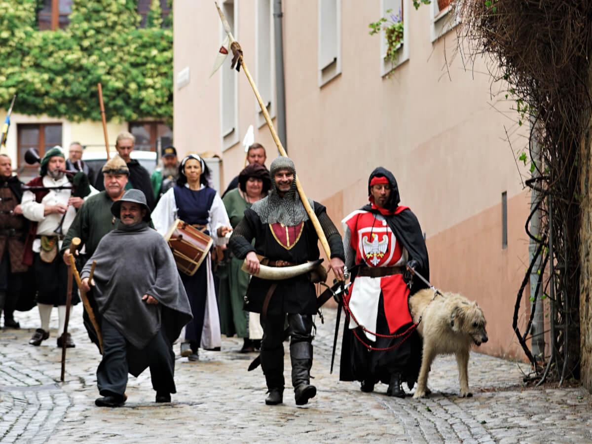 Budissiner Marktgesinde zum Altstadtfestival 2019