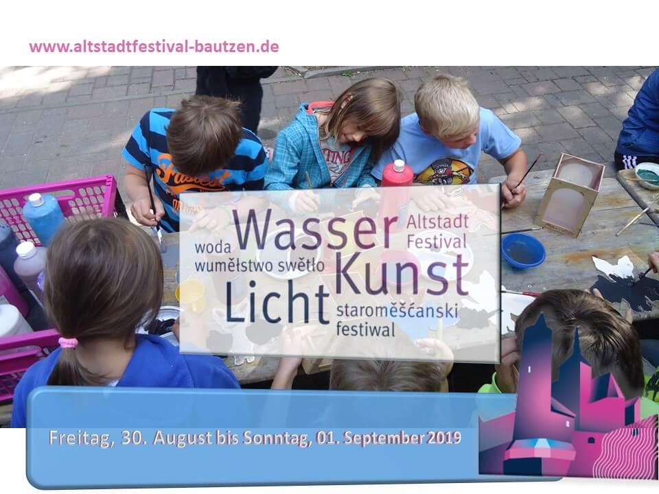 Kinderreisebüro Kreativangebot zum Altstadtfestival 2019