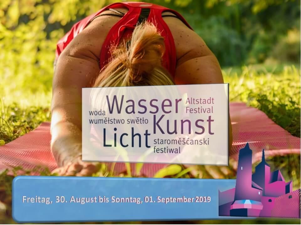 Yoga Open Air zum Altstadtfestival 2019