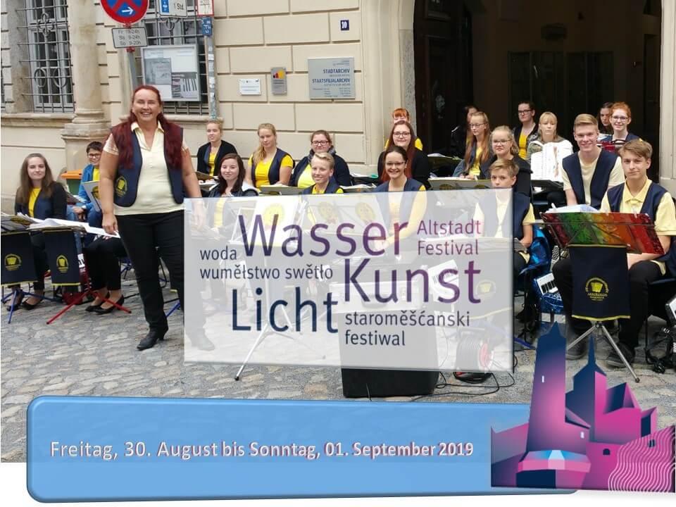 Akkordeon Harmonists Oberlausitz zum Altstadtfestival 2019