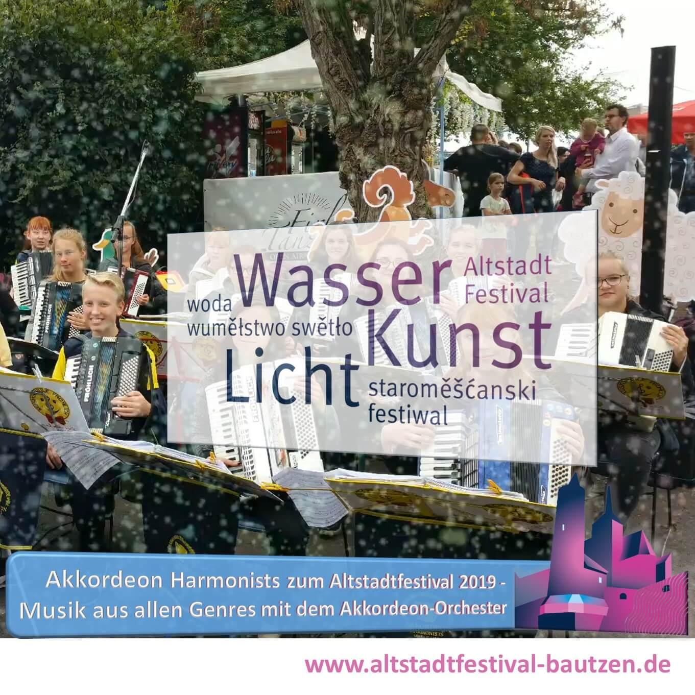 Beitrag Akkordeon Harmonists Oberlausitz zum Altstadtfestival 2019-2