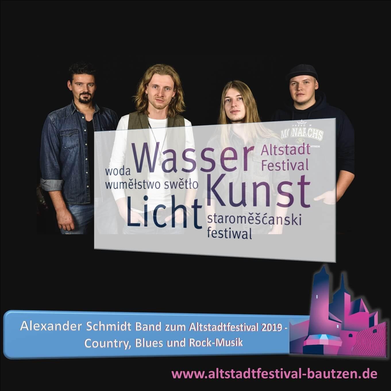 Beitrag Alexander Schmidt Band zum Altstadtfestival 2019
