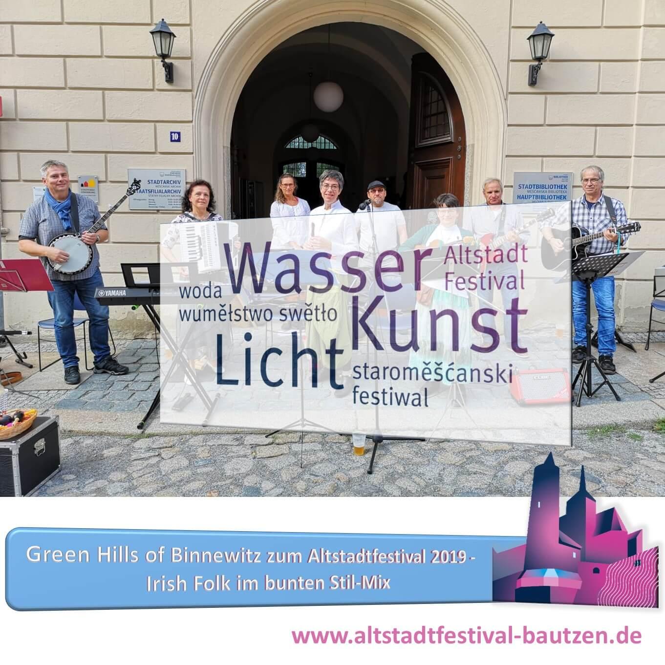 Beitrag Green Hills of Binnewitz zum Altstadtfestival 2019
