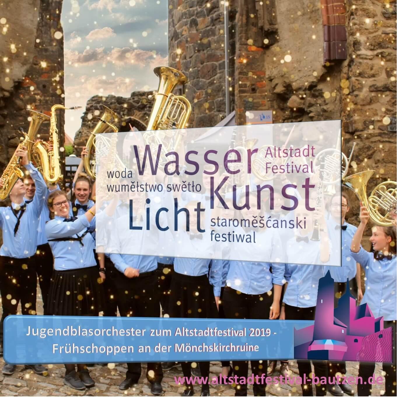 Beitrag Jugend Blasorchester zum Altstadtfestival 2019