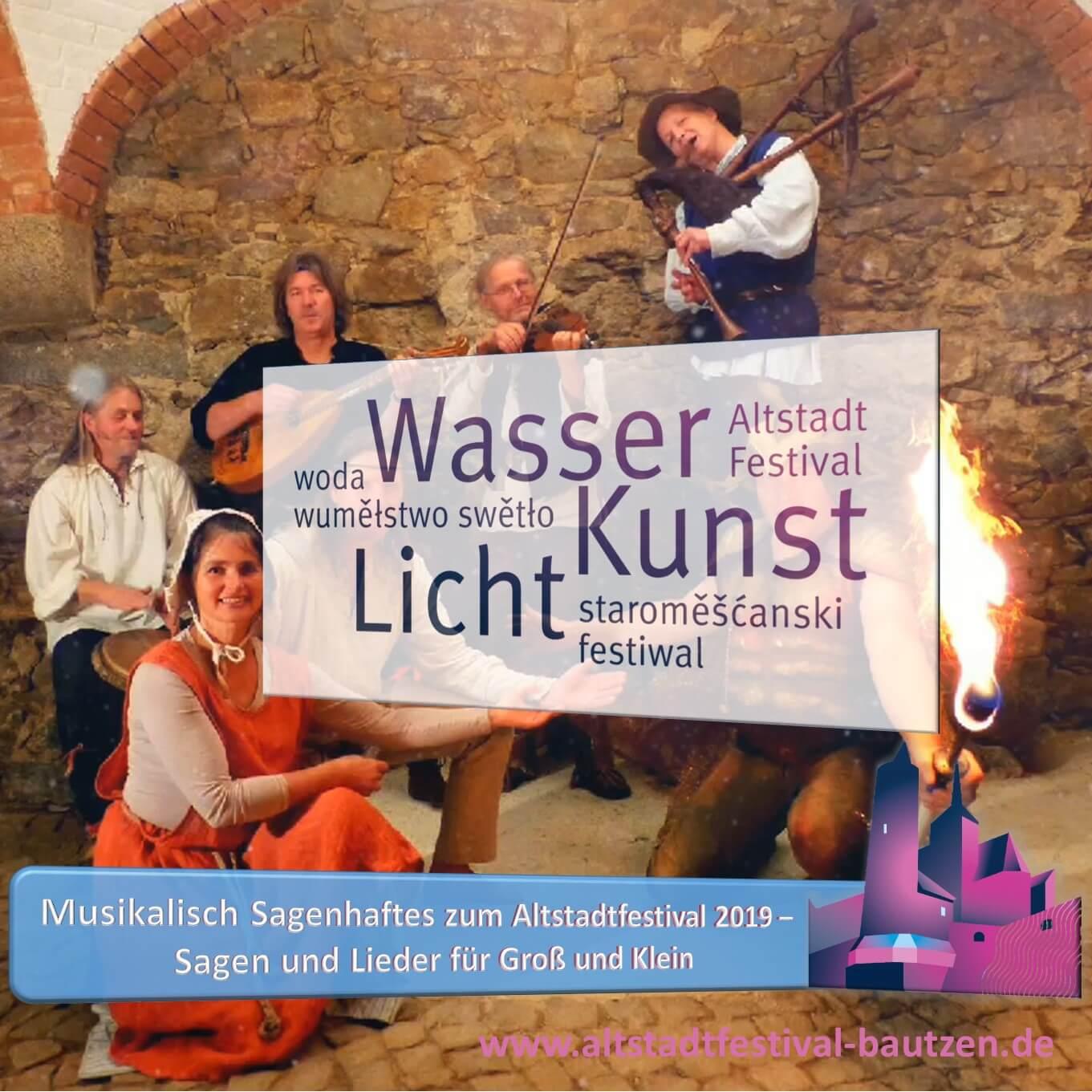 Beitrag Leichtfuss und Liederliesel zum Altstadtfestival 2019