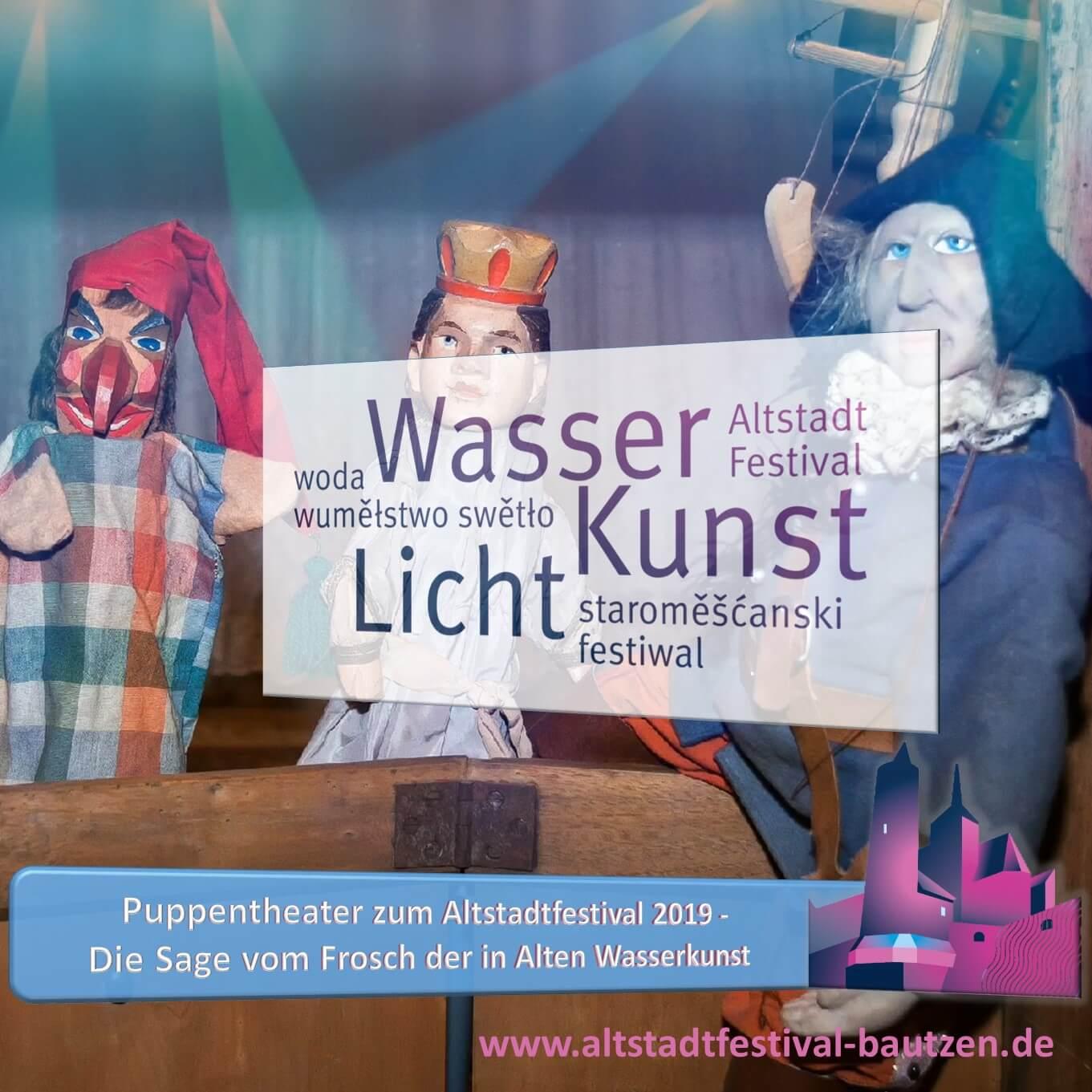 Beitrag Puppentheater zum Altstadtfestival 2019