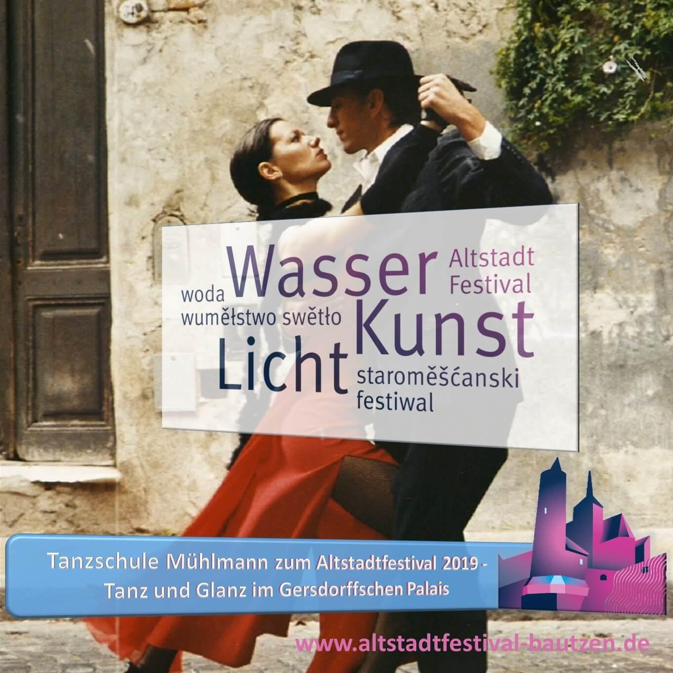 Beitrag Tanzschule Mühlmann zum Altstadtfestival 2019