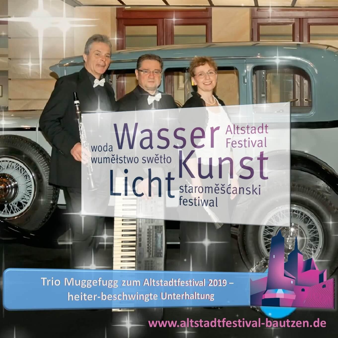 Beitrag Trio Muggefugg zum Altstadtfestival 2019-2