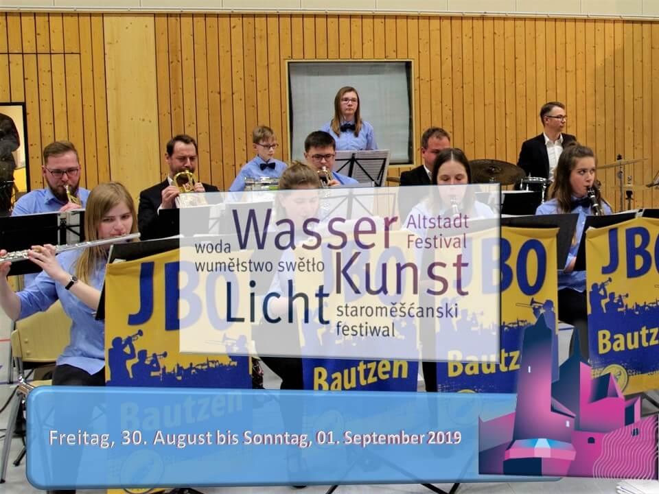 Jugend Blasorchester zum Altstadtfestival 2019