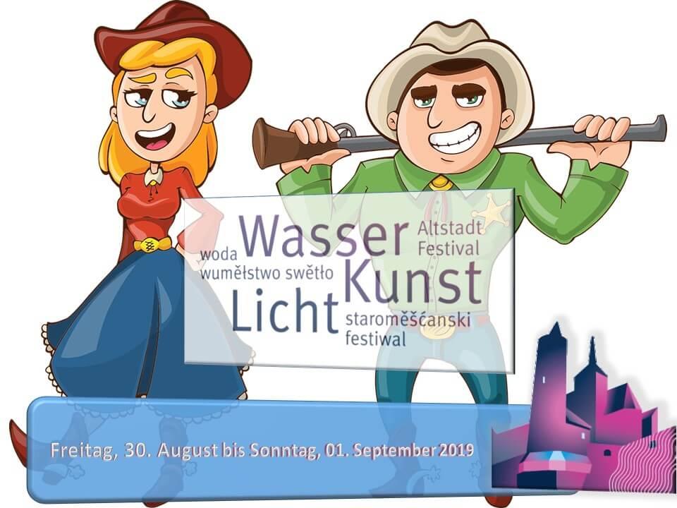Lausitzer Linedancer zum Altstadtfestival 2019