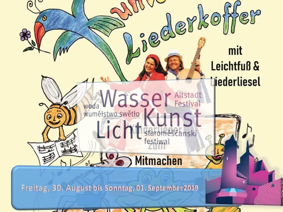 Leichtfuss und Liederliesel zum Altstadtfestival 2019 -Liederkoffer