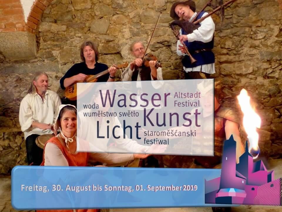 Leichtfuss und Liederliesel zum Altstadtfestival 2019 Plon-Plakat