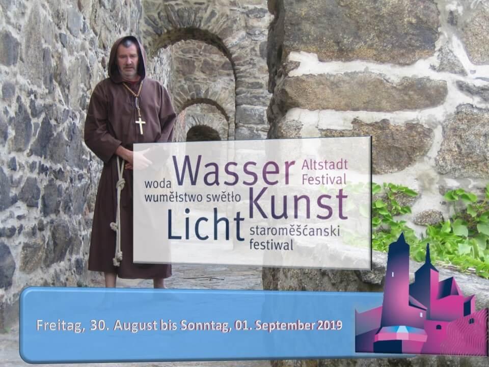 Mönch Eusebius zum Altstadtfestival 2019